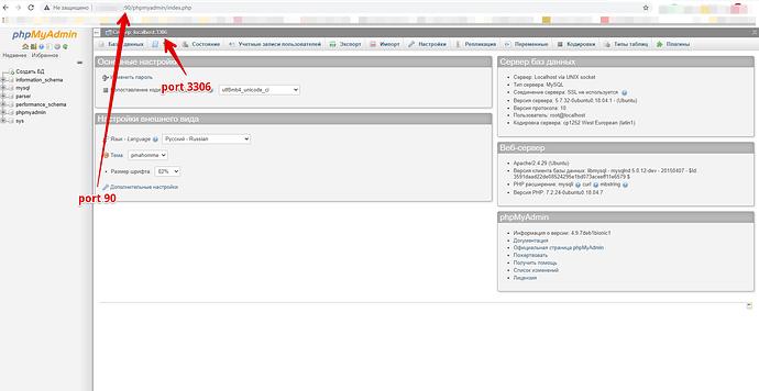 localhost _ phpMyAdmin 4.9.7deb1b
