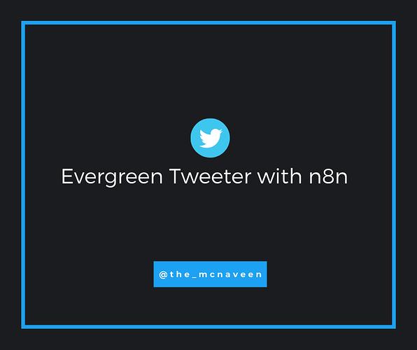 n8n tweet