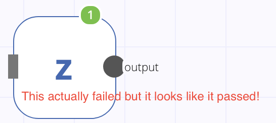 Node Complete but Unclear Failed